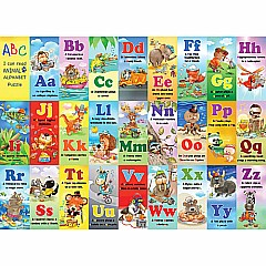 Animal Alphabet Kids-24 Piece Puzzle-White Mountain Puzzles