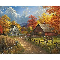 Country Blessings-1000 Piece Puzzle-White Mountain Puzzles