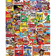 Cereal Boxes -1000 Piece Puzzle-White Mountain Puzzles