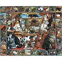 World of Cats (1000 pc) White Mountain