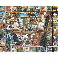 World of Cats Puzzle-White Mountain Puzzles