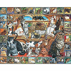 1000pc Puzzle - World of Cats