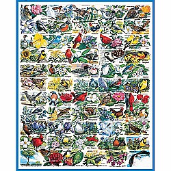 1000pc Puzzle - State Birds and Flowers Puzzle
