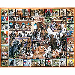 1000pc Puzzle - World of Dogs