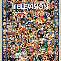 White Mountain Puzzles Television History Puzzle 1000 Piece Puzzle