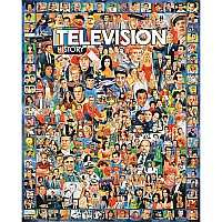 Television History Jigsaw Puzzle-White Mountain Puzzles