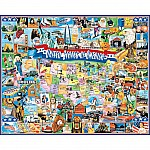 1000 piece United States of America