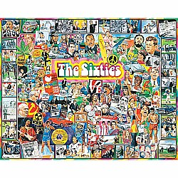1000pc Puzzle - The Sixties