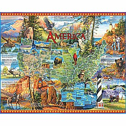 1000pc Puzzle - National Parks America