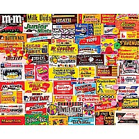 Candy Wrappers Puzzle - 1000 Piece Puzzle