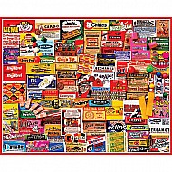 Gum Wrappers - 1000 Piece Puzzle - White Mountain Puzzles