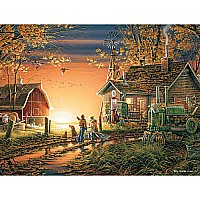 Morning Surprise Jigsaw Puzzle-White Mountain Puzzles