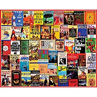 1000 pc Vintage Best Sellers Puzzle