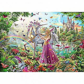Princess Unicorn Puzzle for Kids-White Mountain Puzzles
