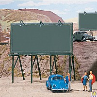 HO Scale - Plain Billboards - Kit pkg(3)