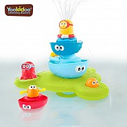 YOOKIDOO STACK N SPRAY TUB FOUNTAIN