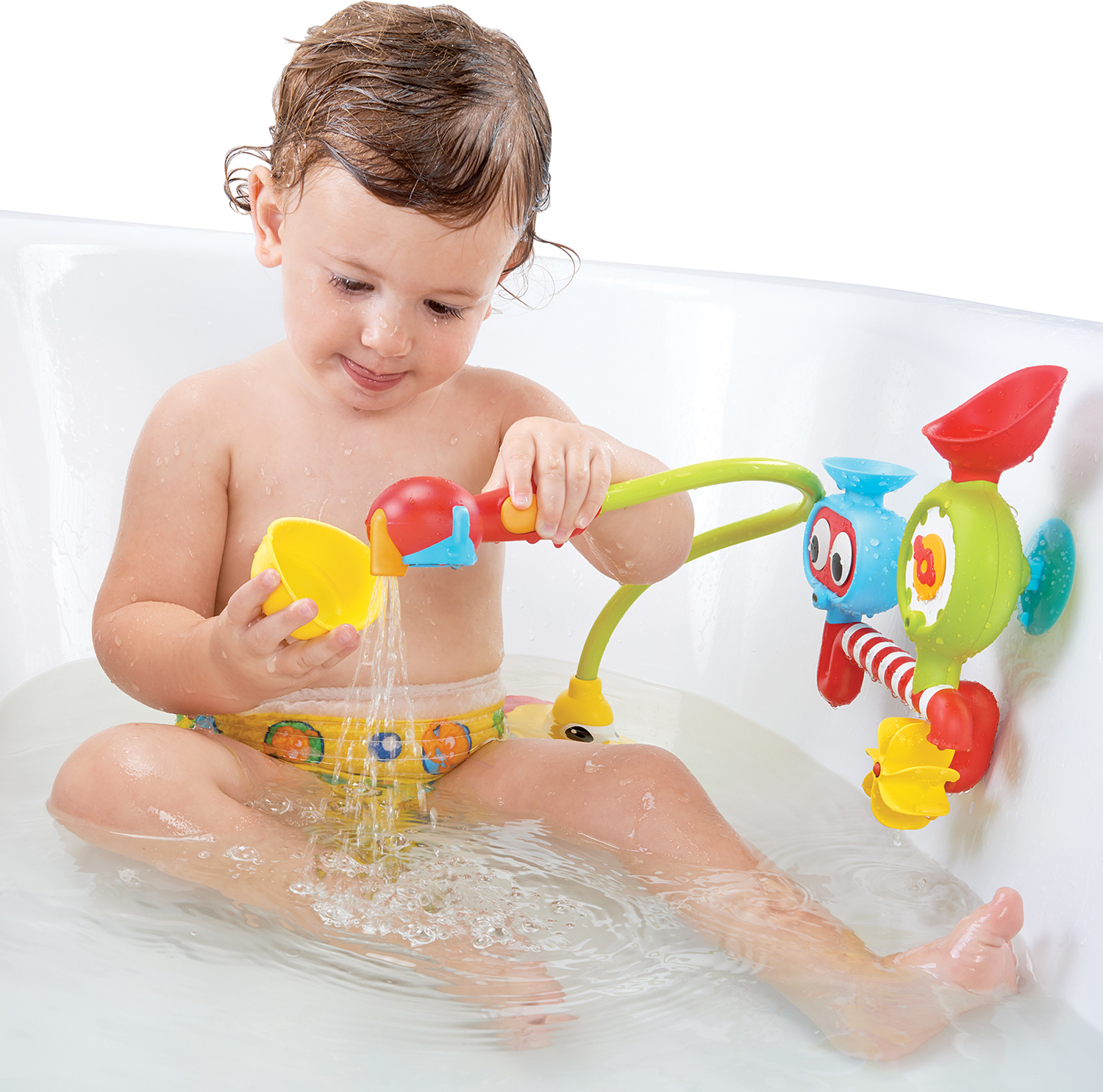 Bath Toy Submarine Spray Station Battery Operated
