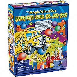 Diving Into Slime, Gel, and Goop (Magic School Bus)