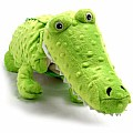 Crocodile Pillow with Blanket Inside