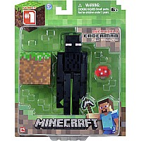 "Minecraft 3"" Core Enderman With Accessory"