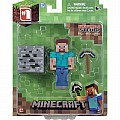 "Minecraft 3"" Core Steve With Accessory"