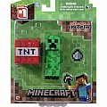 "Minecraft 3"" Core Creeper With Accessory"