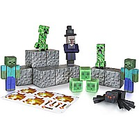 Minecraft Paper Craft Hostile Mobs (30 Plus Pieces)