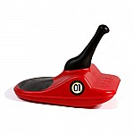 Zipfy Freestyle Mini Luge Snow Sled Red